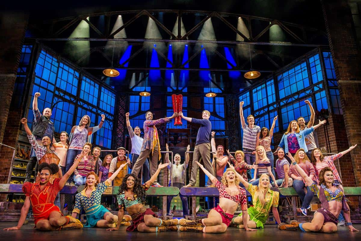 Kinky Boots the show - on NCL Bliss