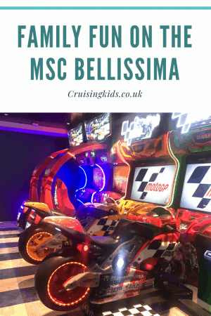 Cruising with the family can be fun take a look! Come and explore the MSC Bellissima for families and see what MSC's new ship had to offer