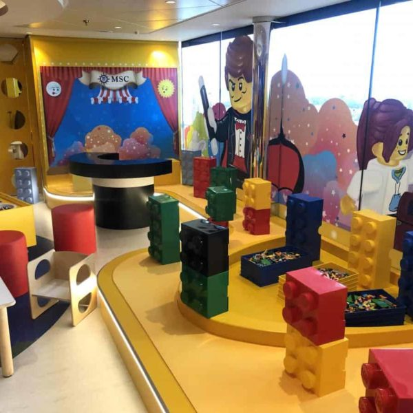 The MSC Bellissima Kidsclub the Junior club