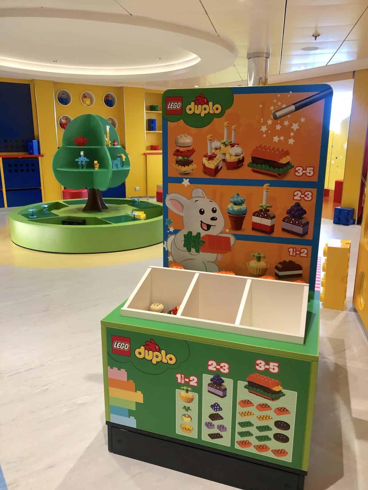 MSC Bellissima Kids club Mini Duplo lego Room