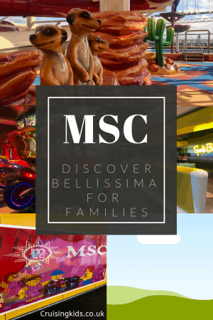 Come and explore the MSC Bellissima for families with Cruising with kids as we hopped onboard and reviewed what MSC's new ship had to offer