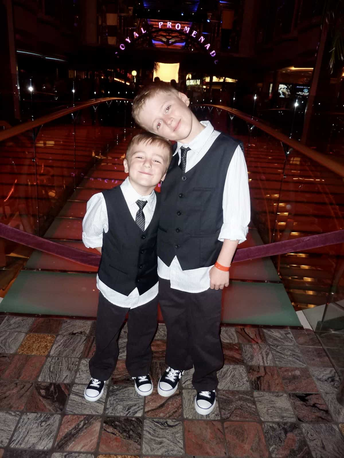 Independence of The Seas Royal Caribbean Formal night children wear