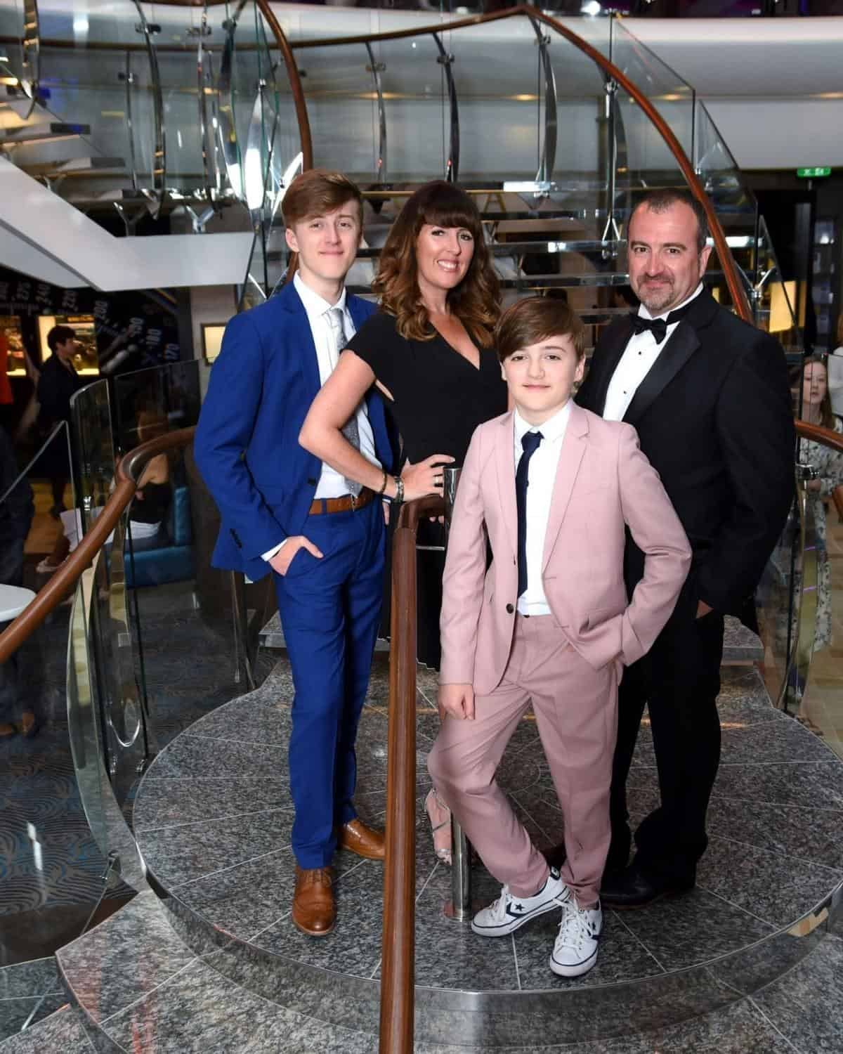 Royal Caribbean Symphony of the Seas Formal Night, What To Wear On Cruise Formal Night For Families