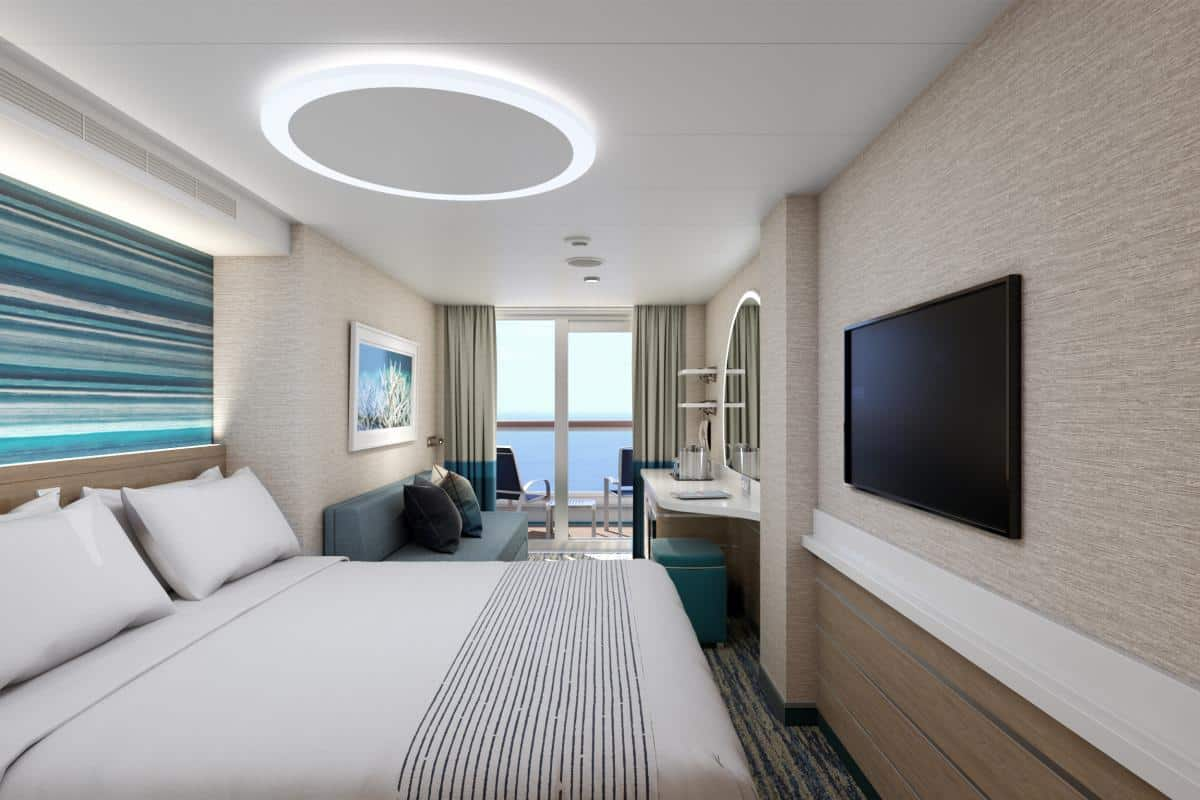 Mardi Gras Cabins for newest ship