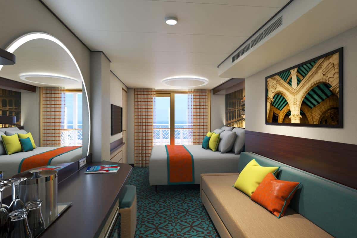Carnival Mardi Gras Family Cabins With New Exciting Innovations