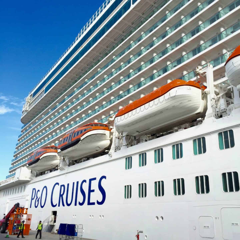 P&O Cruises Britannia in Southampton