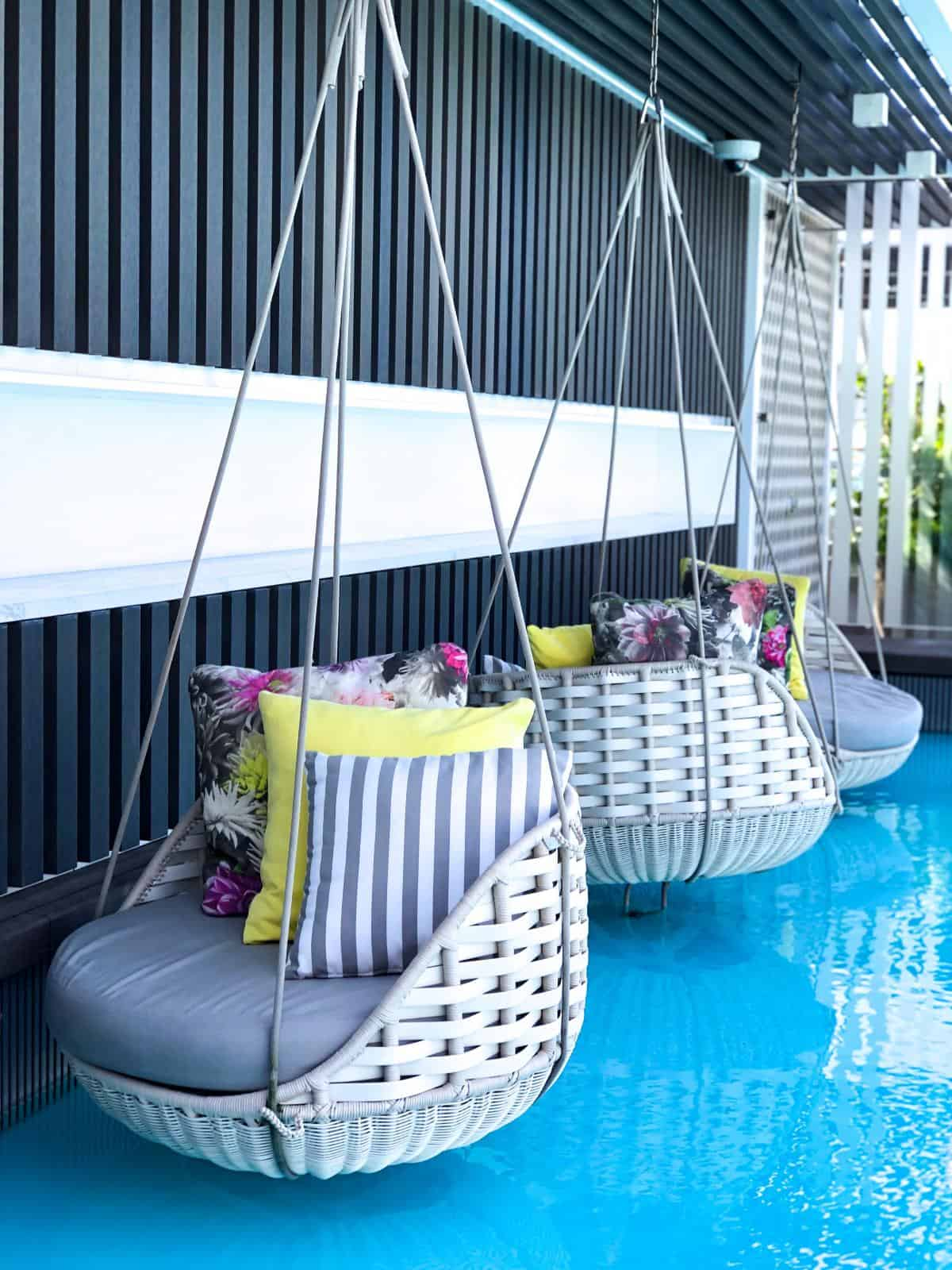 In The Retreat for suite passengers each guest will have a private pool and bar lounge. A personal butler service is also offered in this stunning area. With interiors designed by Kelly Hoppen the retreat really is an eye opener.
