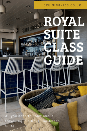 Royal Suite Class Guide for Royal caribbean Sea, Sky and Star class. Is it worth booking a Royal suite and what do you get?