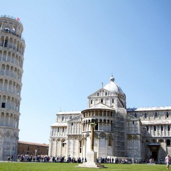 Best shore excursions for kids in the Med - Leaning tower of pisa