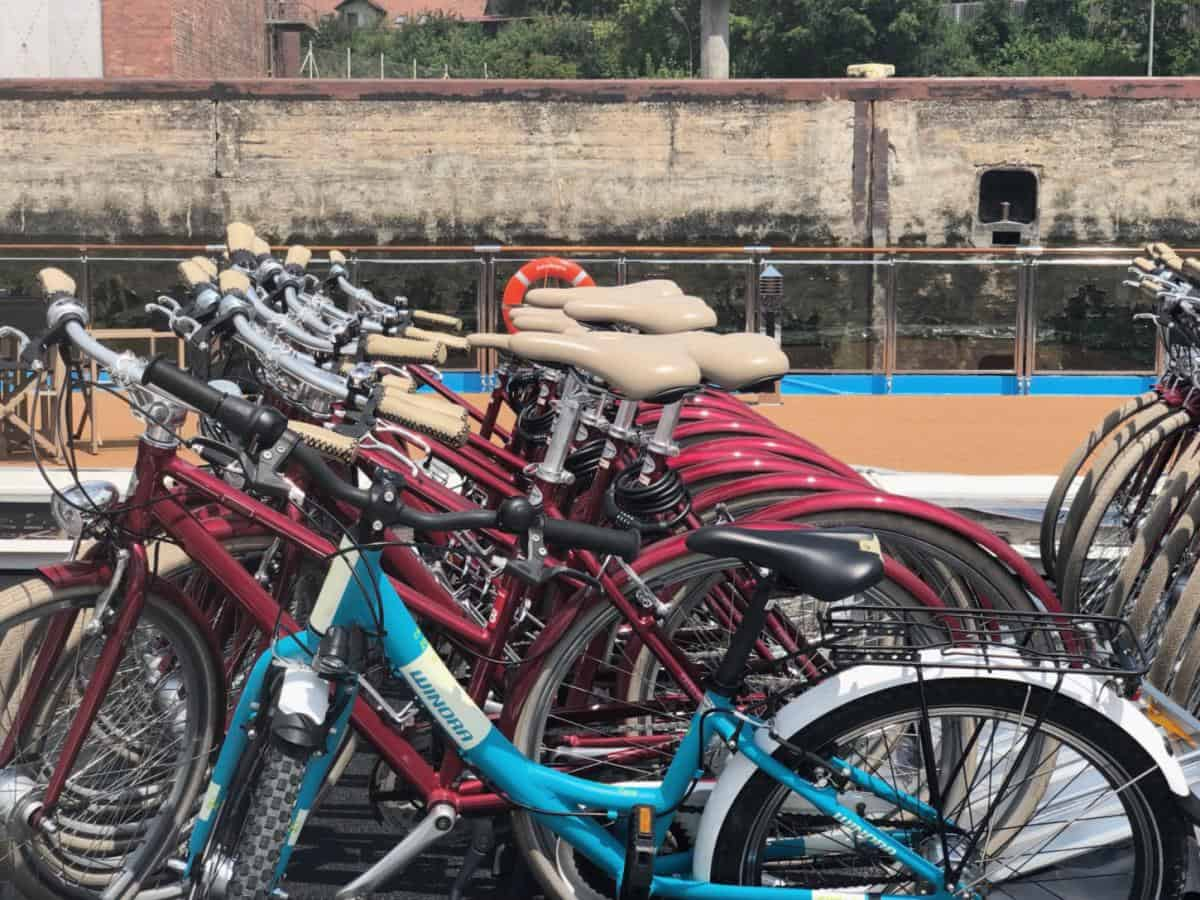 Ama Waterways Review, Bikes on the AmaMagna