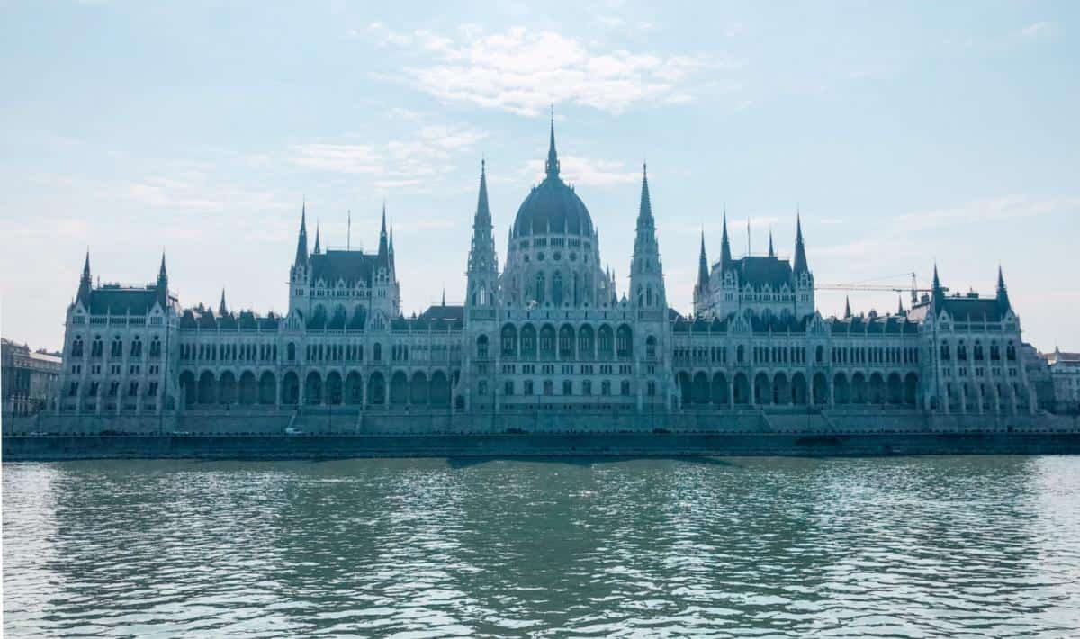 Budapest Parliament from the River Danube
