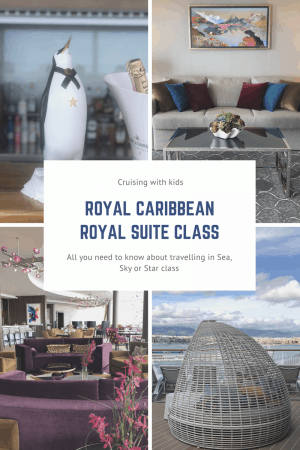 Royal Suite Class is Star, Sky, Sea. In this Royal Caribbean Royal suite 2019 review we will find out what is included in Royal Caribbean Royal Suite Class?