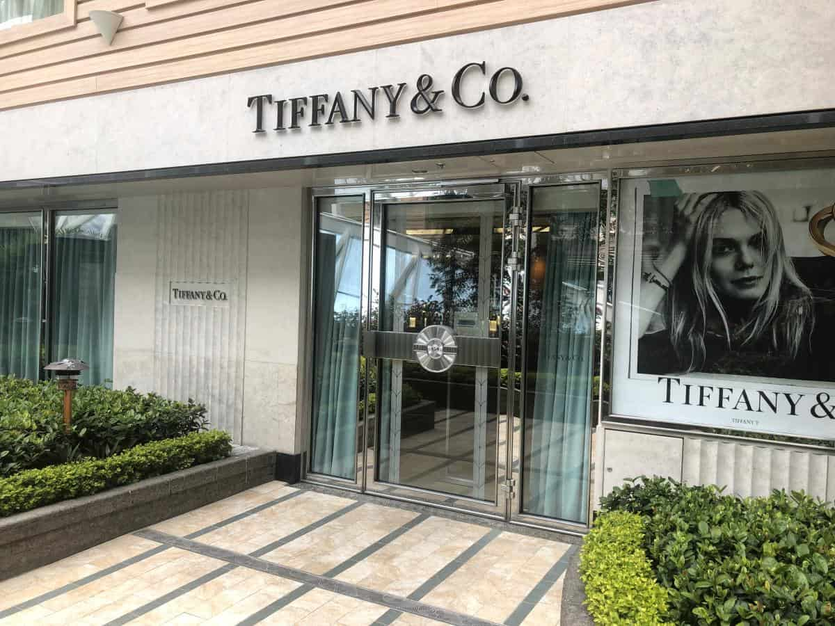 Tiffany and co shop on Oasis of the seas