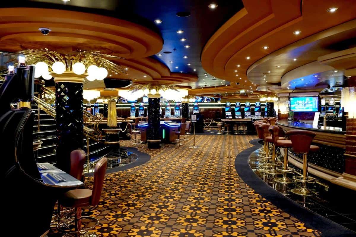 Casino onboard a cruise ship