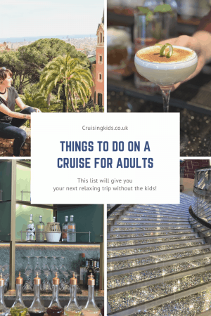 Things to do on a cruise for adults cruises ideas for couples cruising without kids