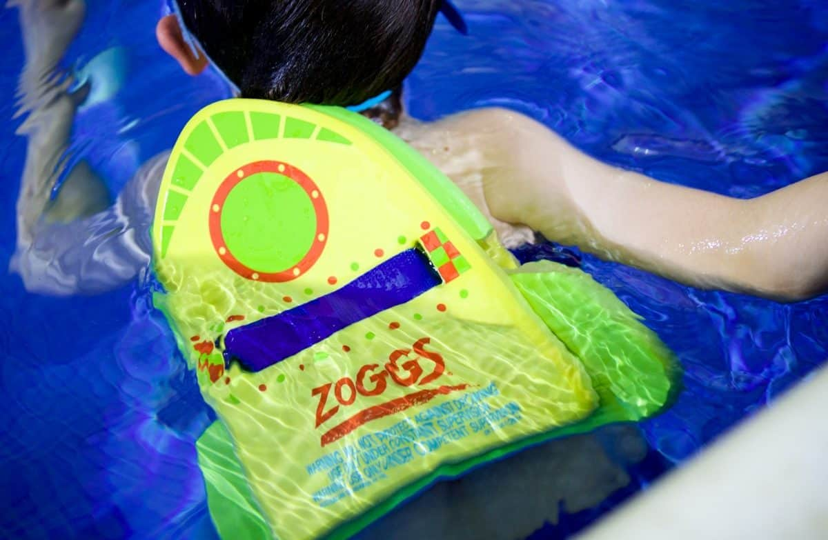 Water toys and safety for a cruise ship pool
