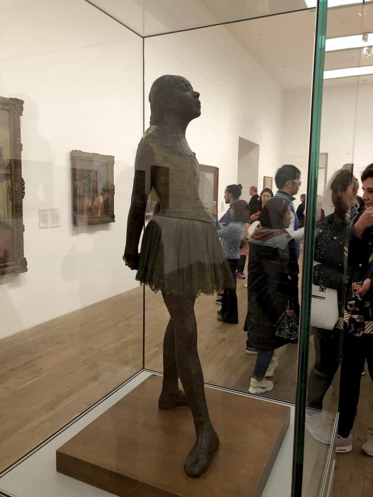 Edgar Degas fine art sculpture in the Tate modern