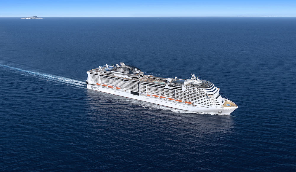 MSC Grandiosa at sea image