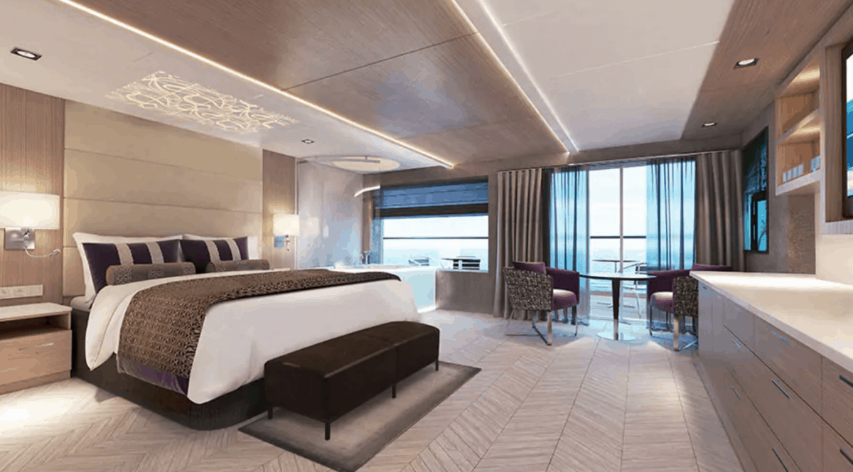 Haven Suites Onboard The Norwegian Encore