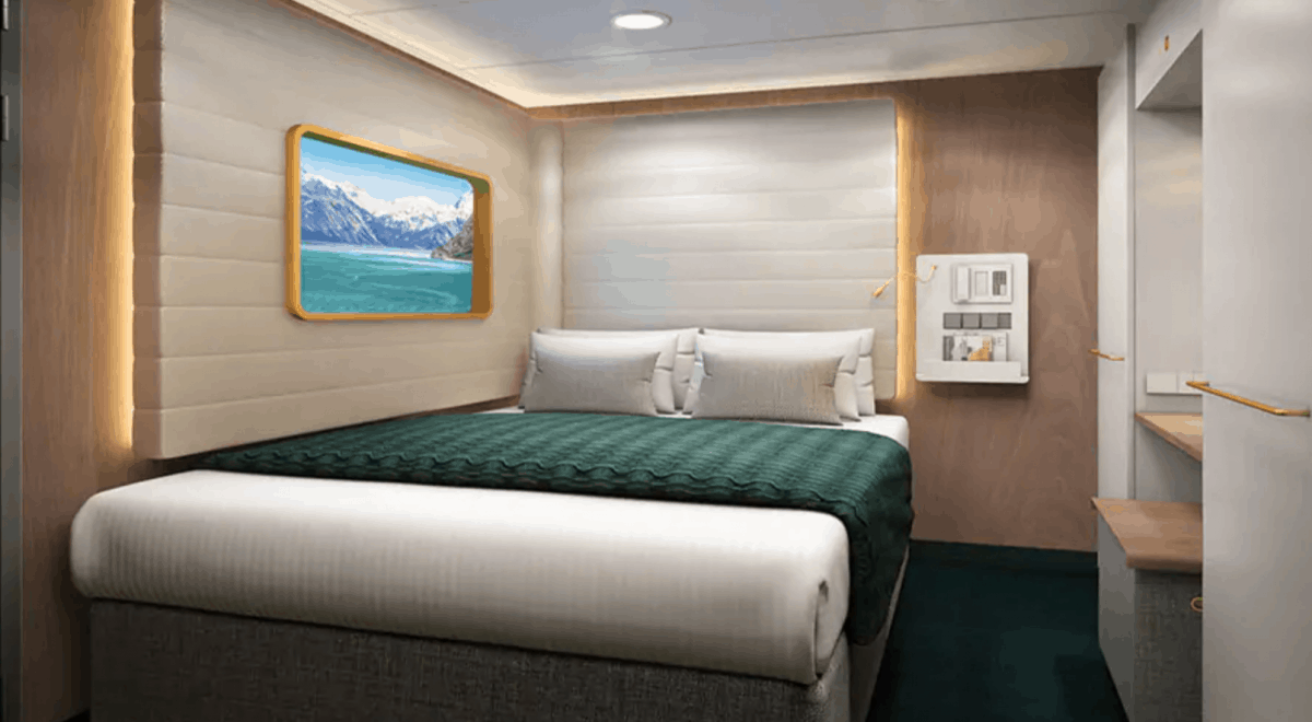 Studio solo accommodation on the Norwegian Encore