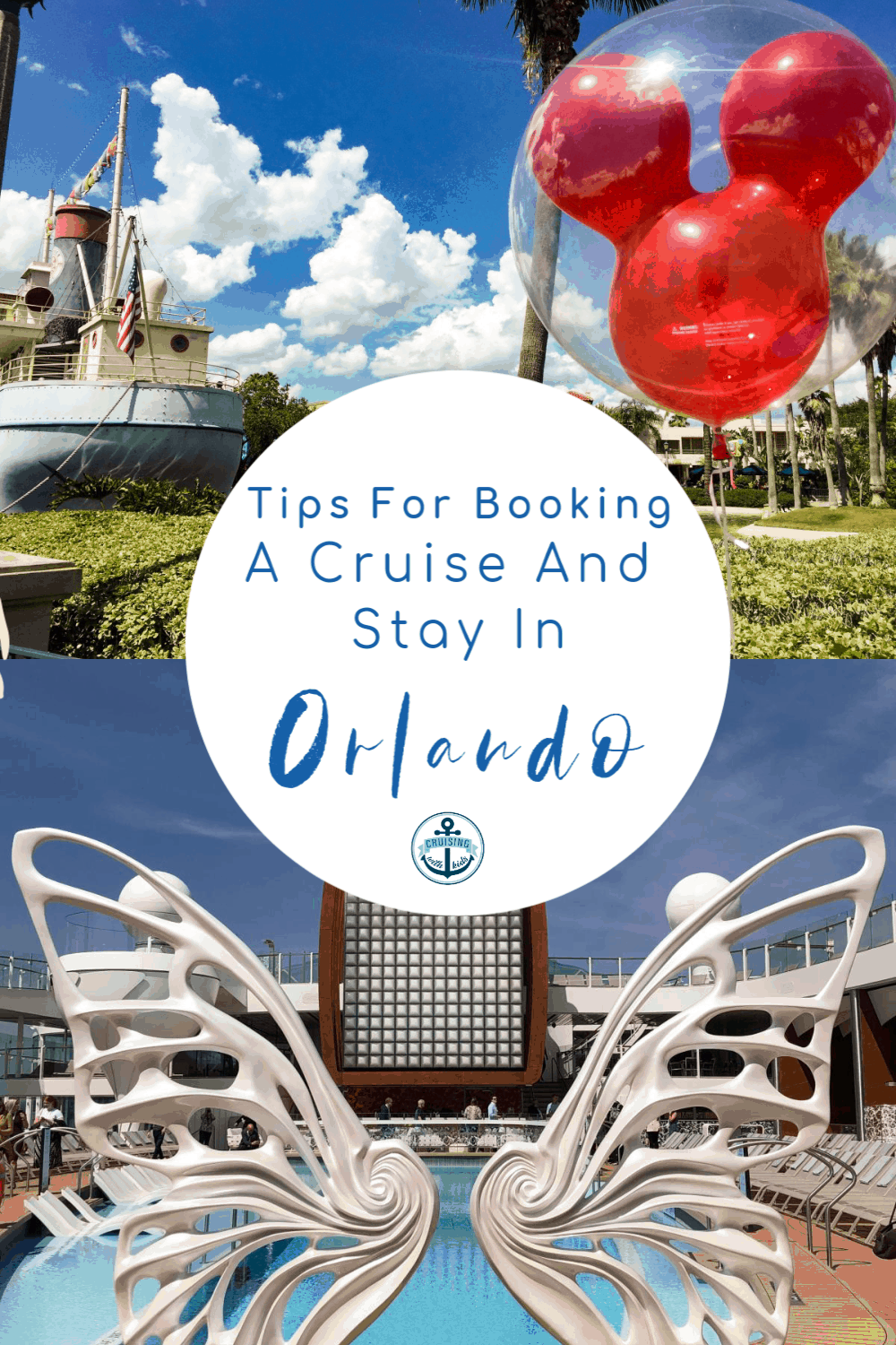 Tips for booking a cruise and stay in Orlando