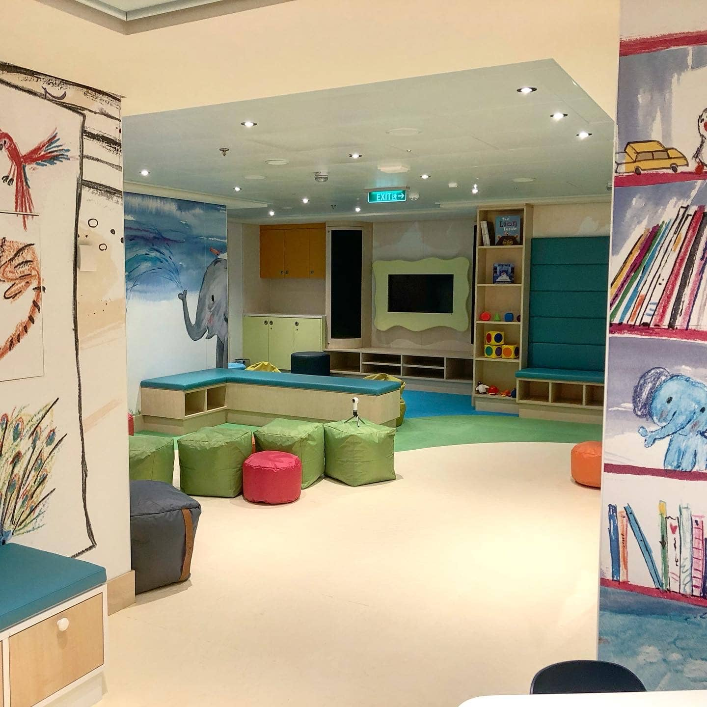 The Guppies baby club on the Norwegian Encore