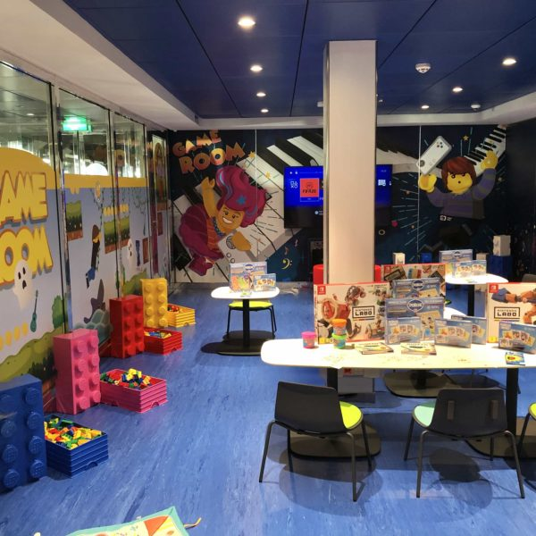 MSC Grandiosa kids clubs