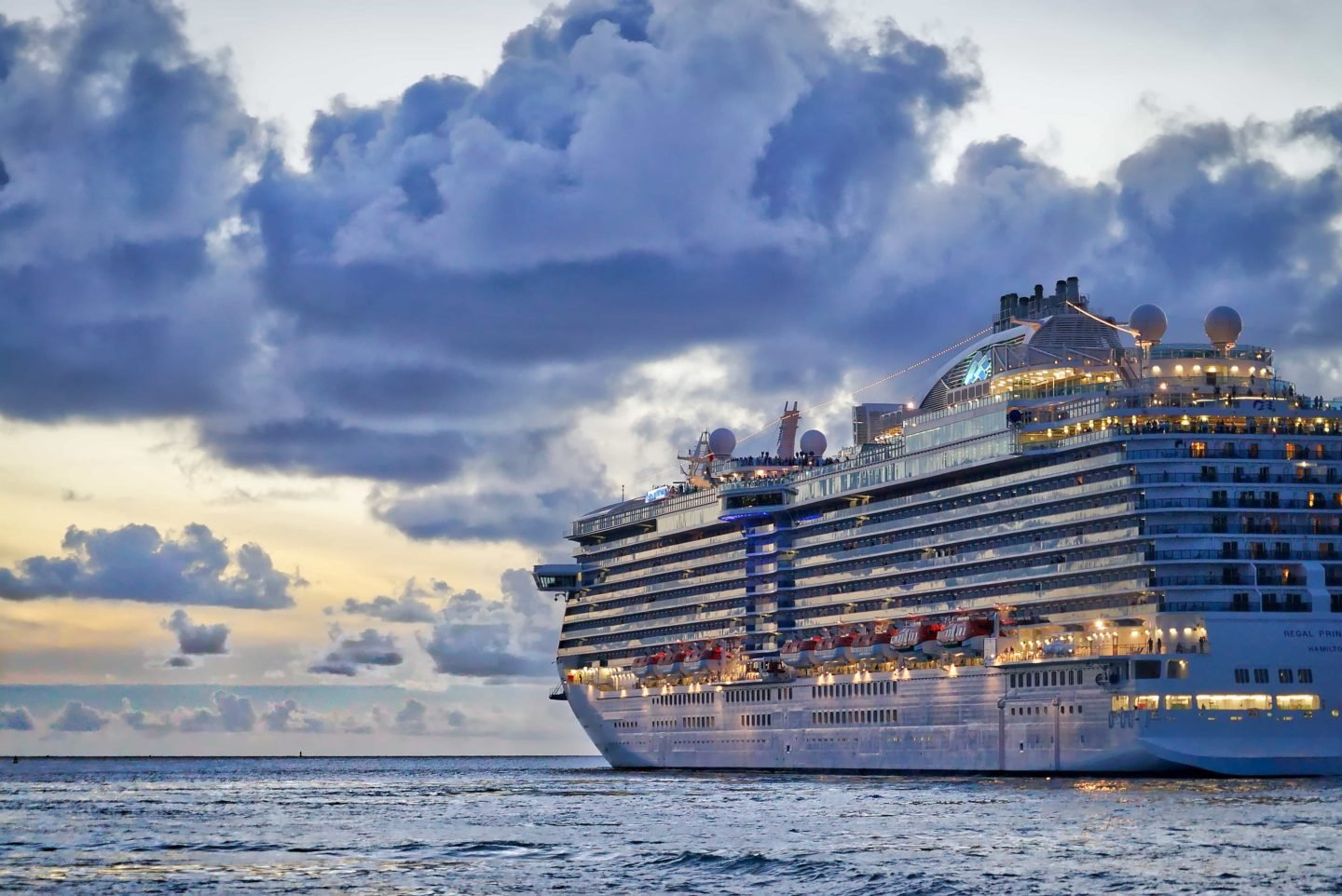 Cruise ship on sea Cruise Safety priorities and tips