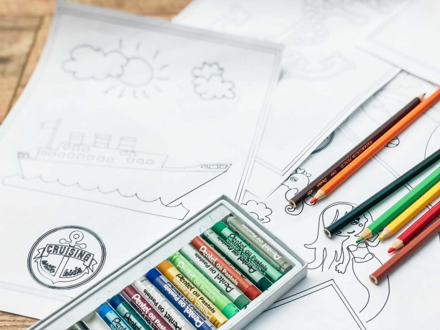 Free Downloadable Colouring Pages