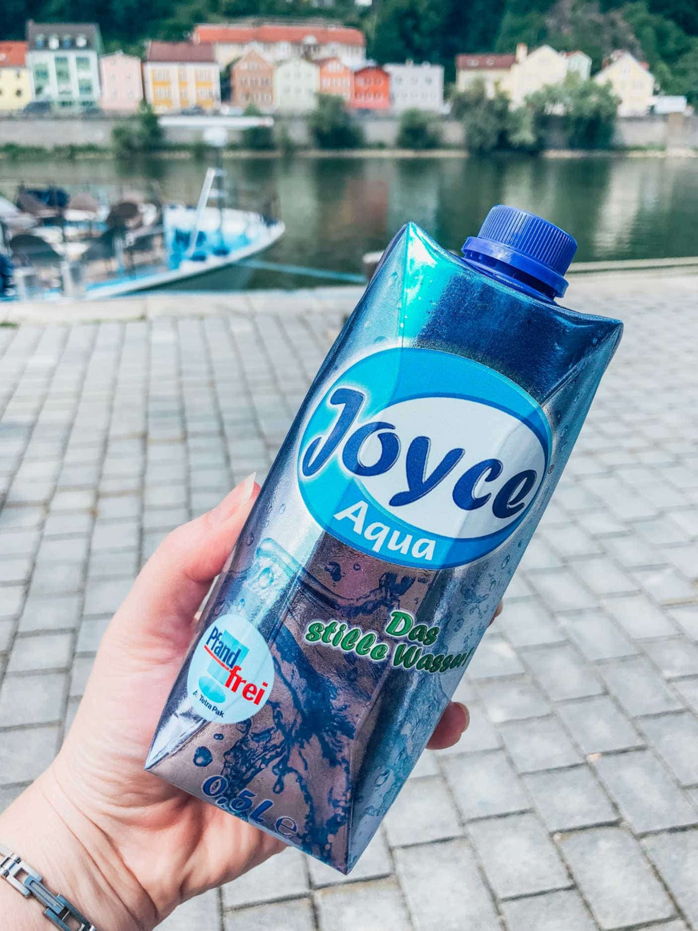 Free water on day trips