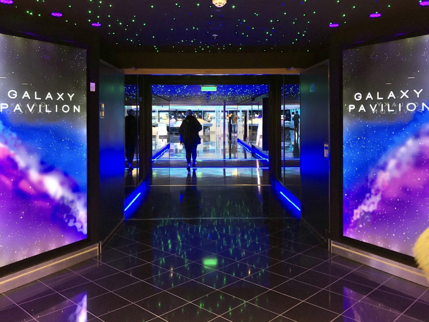 The Galaxy Pavillion on the Norwegian Encore