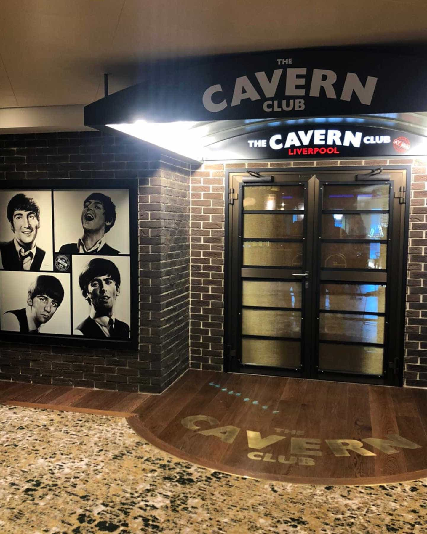 The Cavern Club at Sea