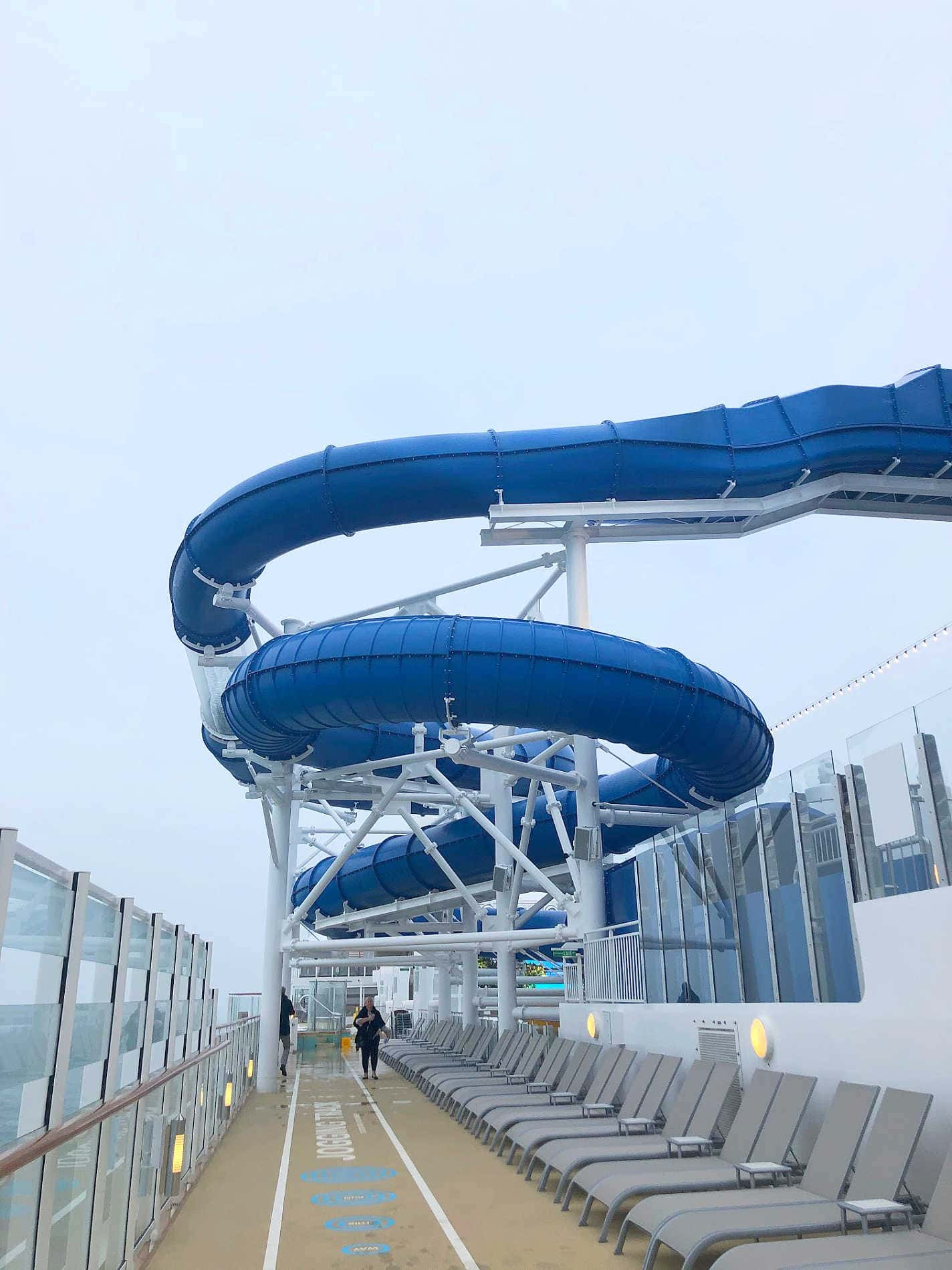 Water slide on NCL Encore