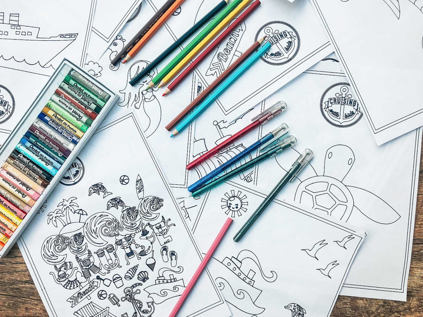 children's colouring sheets