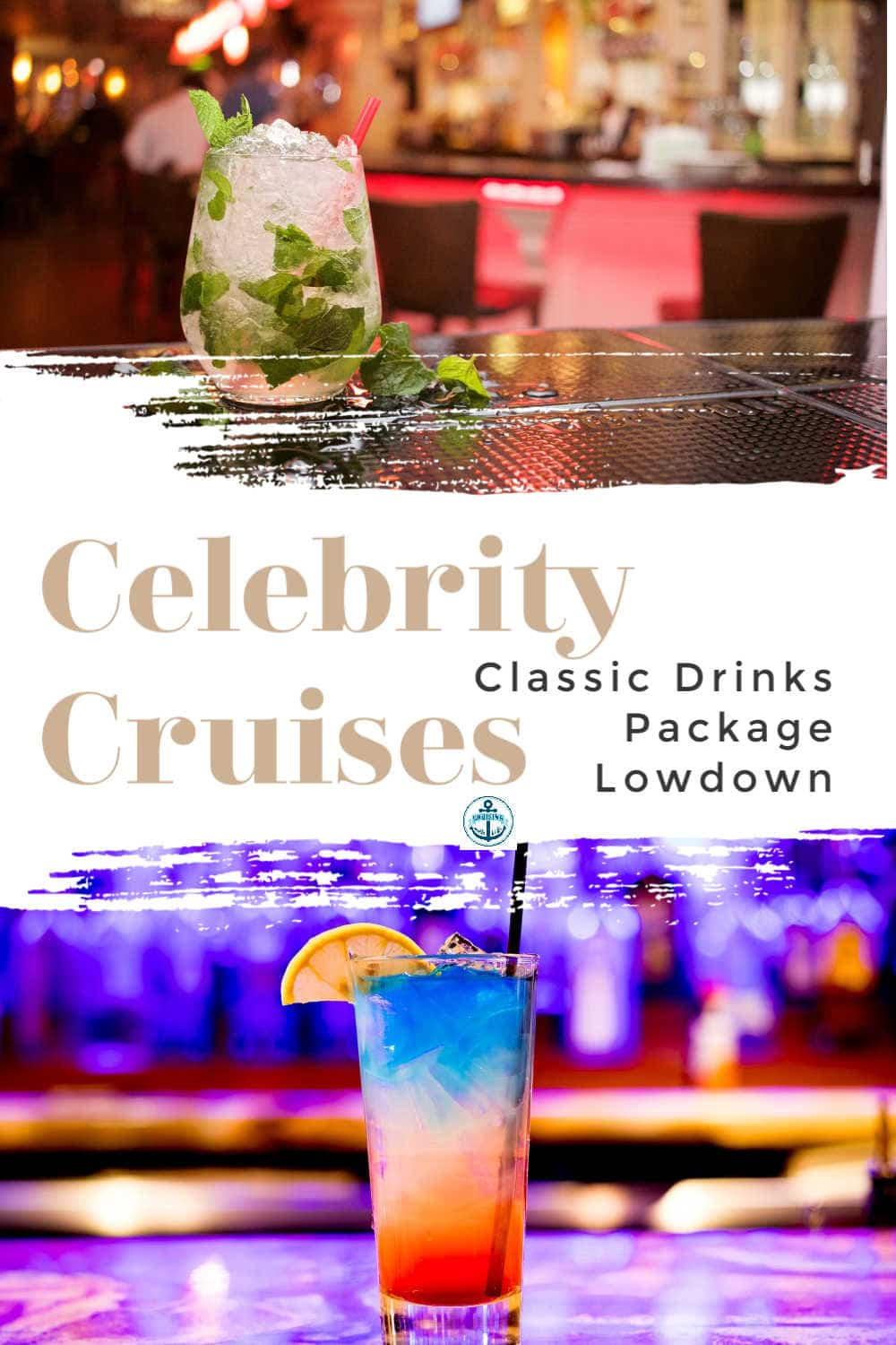 Celebrity Cruises Classic Drink's Package, what's included in the non alcoholic and alcoholic packages, including beers, spirits, coffee and mocktails.