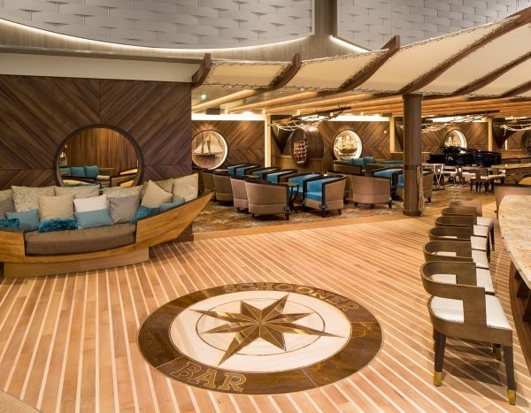 Royal Caribbean Schooner bar menu's