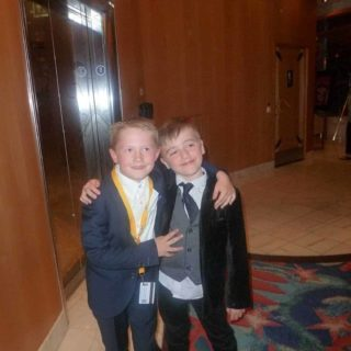Formal night on Royal Caribbean for kids