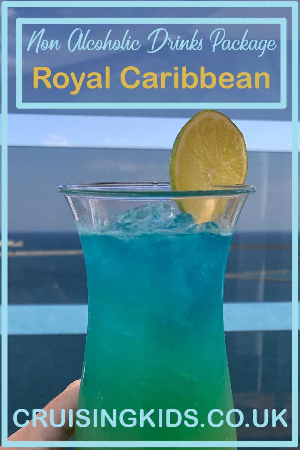 Non Alcoholic Drinks Package on Royal Caribbean. Mocktails and Sodas on the Refreshment package