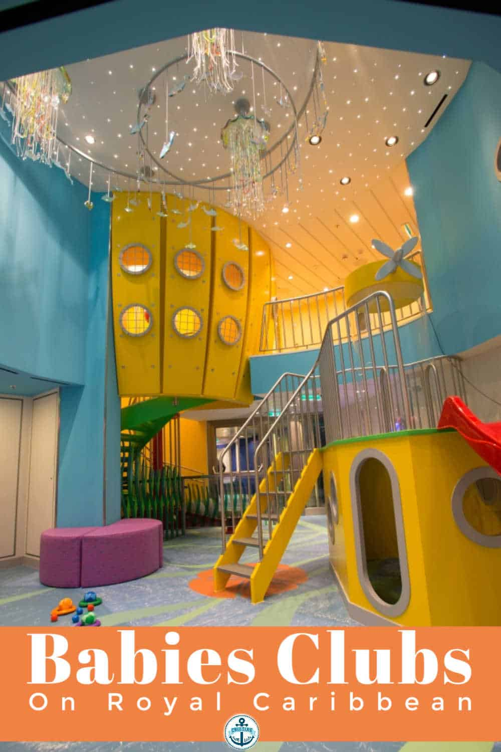 The ultimate guide to cruising babies clubs on Royal Caribbean including stay and plays and bookable nurseries
