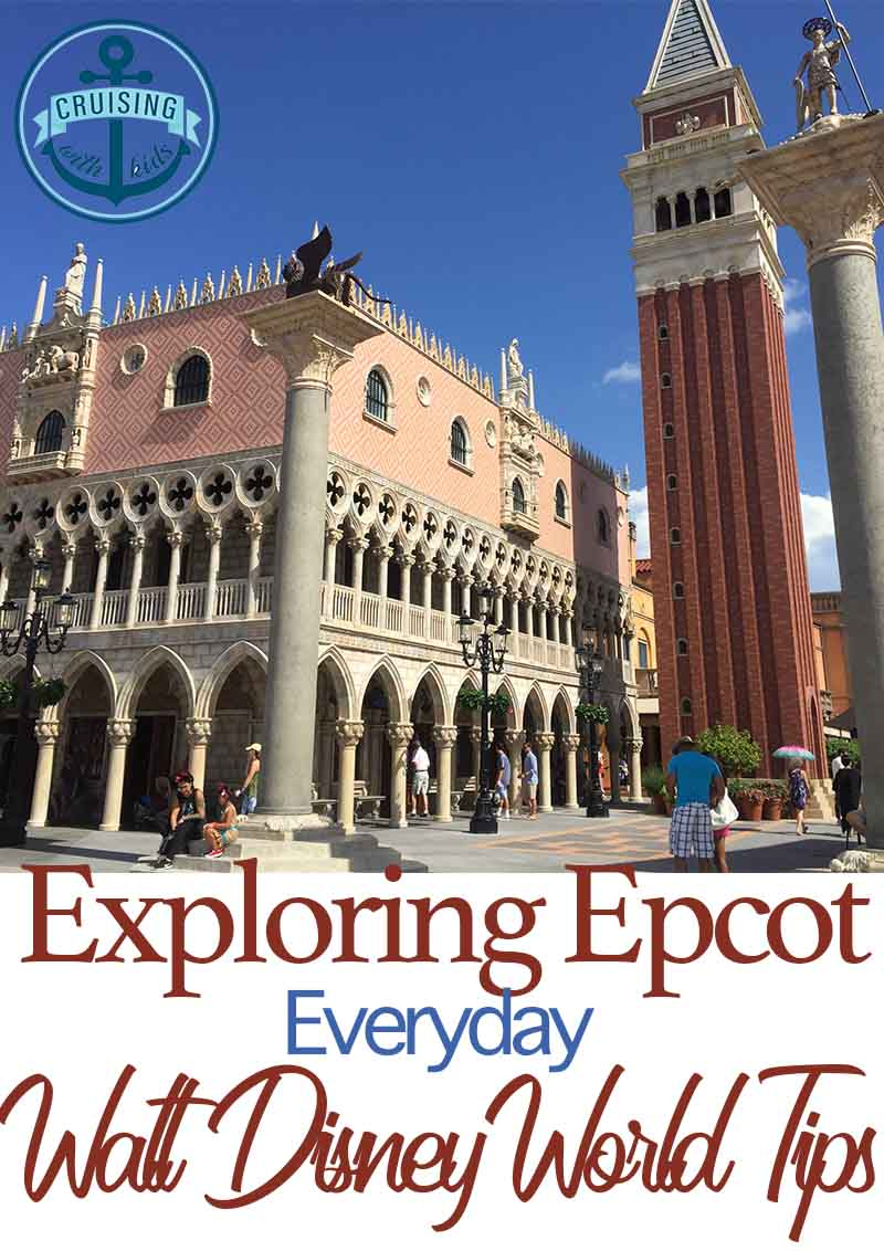 Exploring Epcot tips image of Italy in Walt Disney World