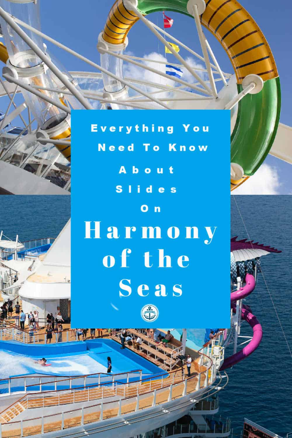 Everything you need to know about slides on Harmony of the seas including weight and height restrictions