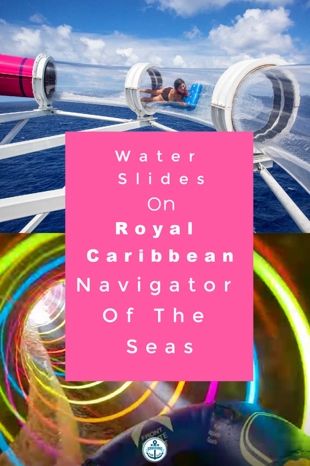 Guide To The Water slides on Royal Caribbeans Navigator Of The Seas