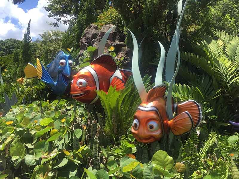 Finding Nemo and friends at future world Epcot