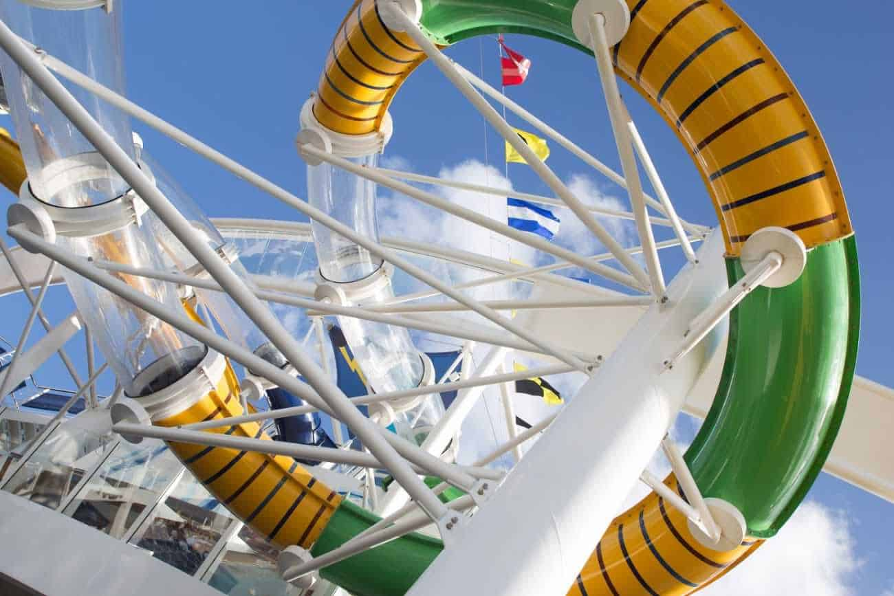 Best water slides on cruises