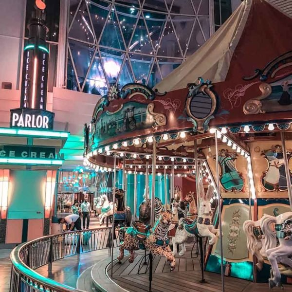 Royal Caribbean carousel onboard Symphony of the Seas
