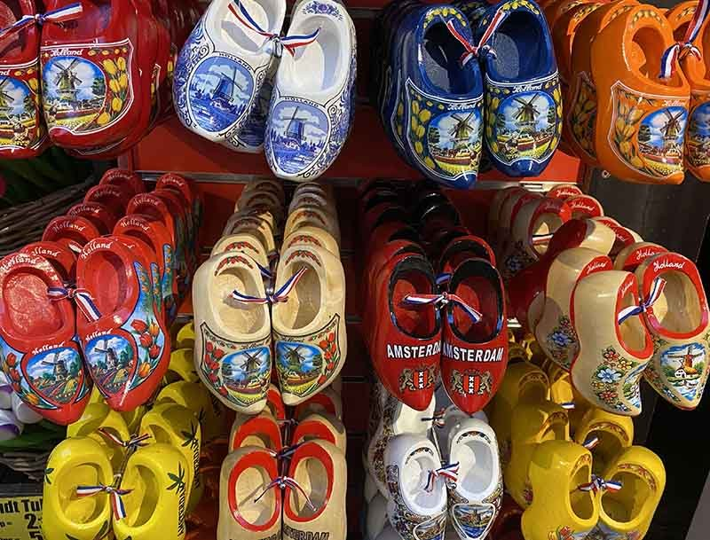 Clogs in Amsterdam photo