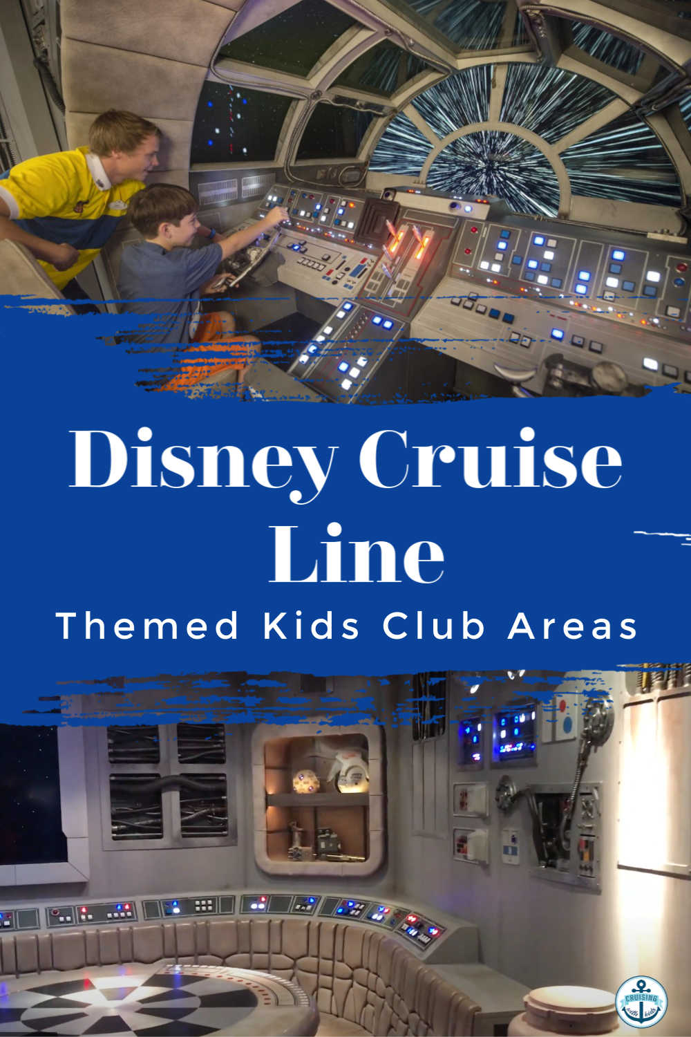 Disney Cruise Line Themed Kids Club Areas you can expect to find on each Disney Cruise Ship