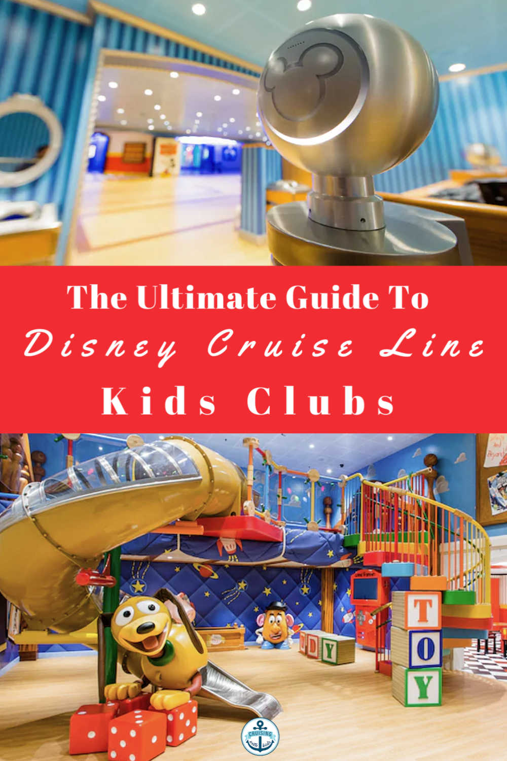 The Ultimate Guide To Disney Cruise Line Kids Club and whats on for kids at the Oceaneers Lab and Oceaneers Club