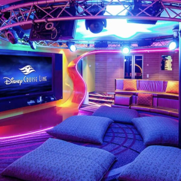Vibe teens club on Disney Cruise Line